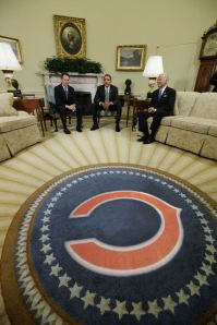 Obama Oval Office Bears rug